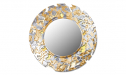 Зеркало CAMOUFLAGE (round silver-gold)