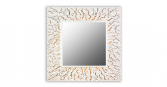 Зеркало CORAL (square silver)