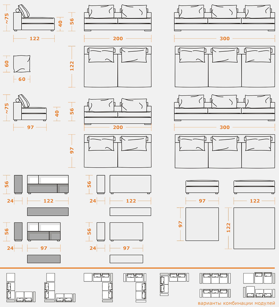 Изготовление диванов в Москве