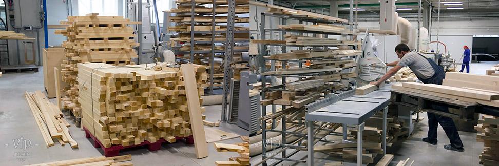 Цех обработки древесины