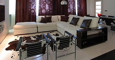 Угловой диван в стиле Классика