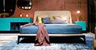 Кровати с мягким изголовьем в классическом стиле