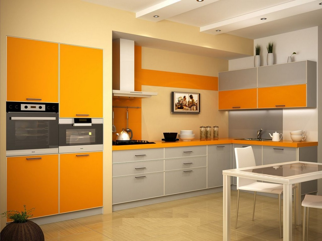 Оранжевый и кофе