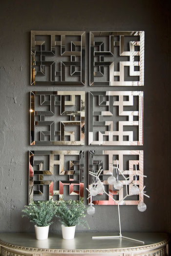 Зеркало Лофт в интерьере